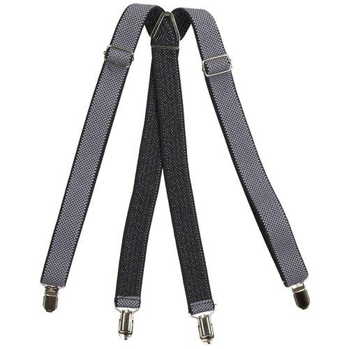 Фото - Подтяжки мужские X, ширина 25 мм, рифленые, цвет: серый (подарочная коробка) подтяжки stilmark рифленые mono