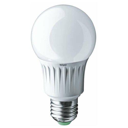 Лампа светодиодная 71 296 NLL-A60-12-230-2.7K-E27 (Standard) 12Вт грушевидная 2700К тепл. бел. E27 900лм 176-264В Navigator 71296 (упаковка 10 шт)
