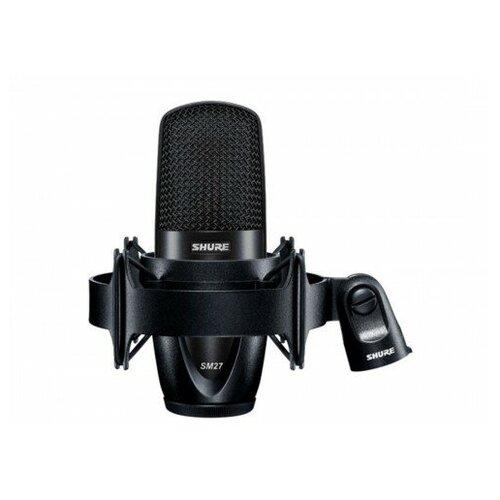 Студийный микрофон SHURE SM27-LC студийный микрофон shure sm7b