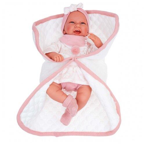 Фото - Кукла Antonio Juan Пола в розовом, 40 см, 3304 кукла antonio juan антония в розовом 40 см 3376p