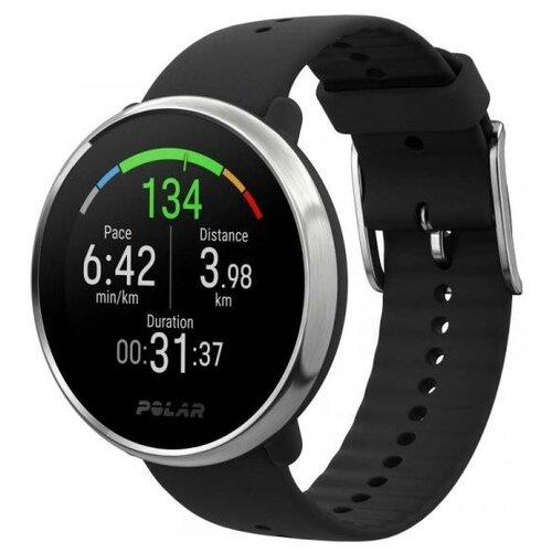 Фитнес-часы с монитором сердечного ритма POLAR IGNITE BLK/SLR
