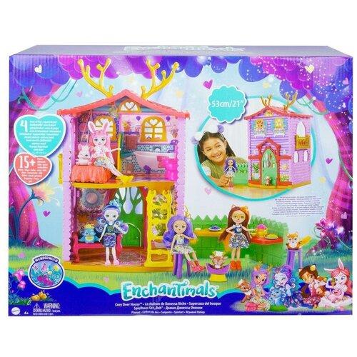 Enchantimals Mattel Домик Данессы Оленни GYJ18