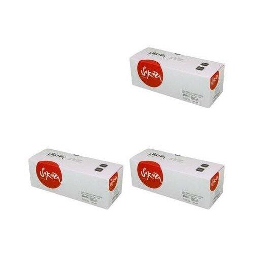 Sakura SAC3906A-FX3-3PK Картриджи комплектом C3906A/FX3 черный 3 упаковки, совместимый [выгода 3%] Black 7.5K для LaserJet 3100, 3150, 5L 5, 6L 6, 6SE, 6XI