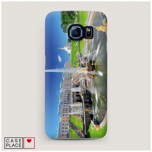 Чехол Пластиковый Samsung Galaxy S7 Петергоф