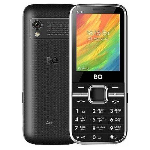 Мобильный телефон BQ 2448 Art L+ Black мобильный телефон bq elegant 3595 серый