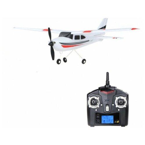 Радиоуправляемый самолет WLToys F949S Cessna 182 6-AXIS GYRO 2.4G для начинающих со стабилизацией-WLT-F949S