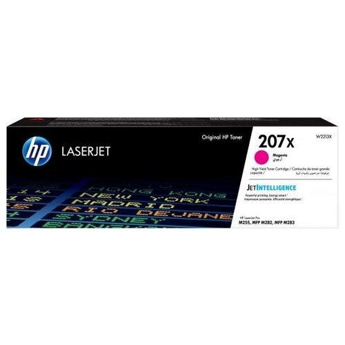 HP Картридж HP 207X для HP Color LaserJet Pro M255dw Color LaserJet Pro M282nw Color LaserJet Pro M283fdn Color LaserJet Pro M283fdw 2450стр Пурпурный