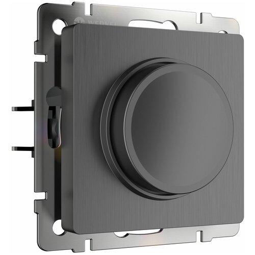 Диммер Werkel W1142004/ Диммер (графит рифленый), Черный,