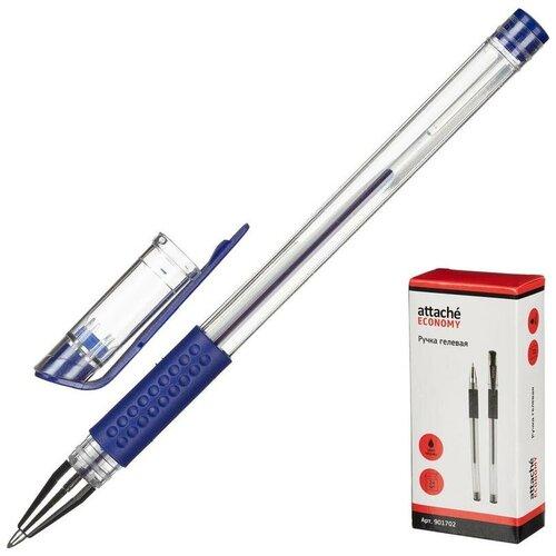 Купить Набор ручек гелевых Attache Economy синяя (толщина линии 0.3-0.5 мм) - 24 шт., Ручки