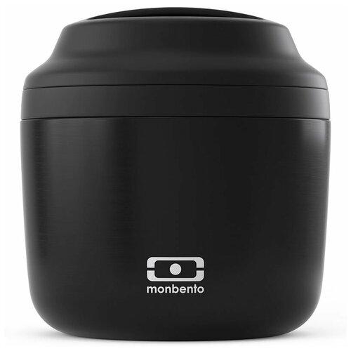 Monbento Контейнер для еды Monbento Element Black Onyx (550 мл, подходит для супа)