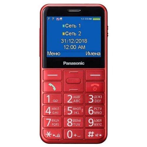 Телефон Panasonic KX-TU150RU Красный