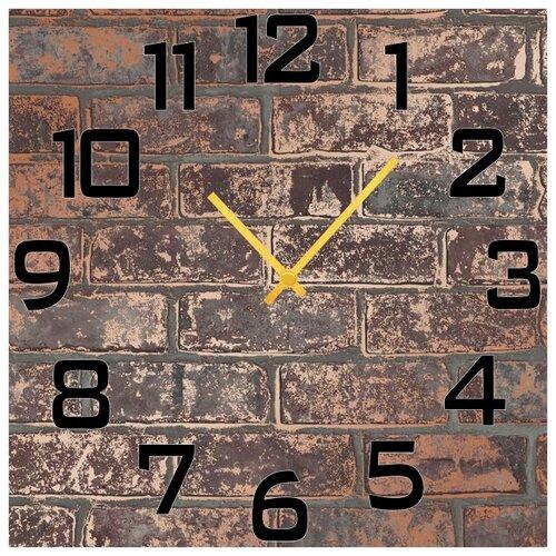 SvS Настенные часы SvS 3002796 Кирпичная стена