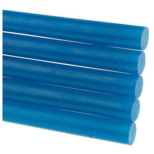 Стержни клеевые REXANT Ø 11 мм, 100 мм, синие (6 шт./уп.) (блистер), цена за 1 упак