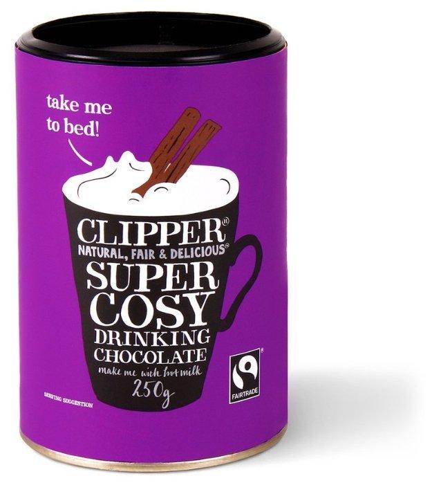Clipper Горячий шоколад растворимый, 250 г