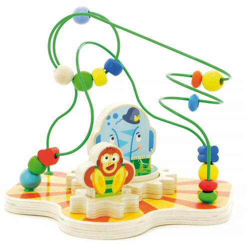 цена на Лабиринт Мир деревянных игрушек Цирк зеленый/бежевый/желтый