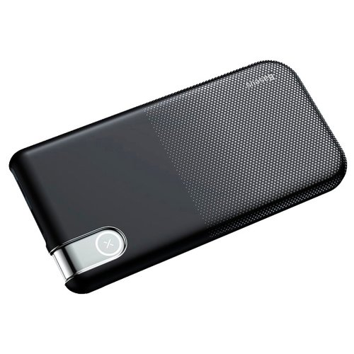 Купить Аккумулятор Baseus Thin Version Wireless Charge Power Bank 10000 mAh черный