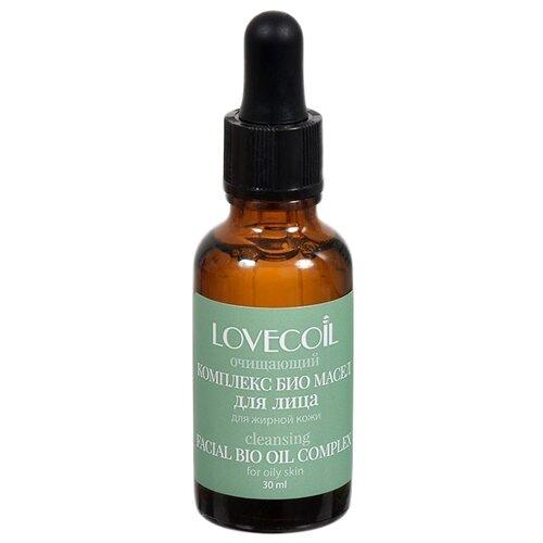 LovECoil комплекс БИО масел для лица Очищающий, для жирной кожи, 30 мл