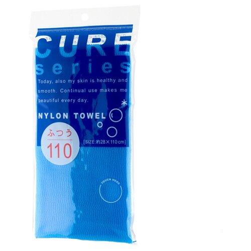 Фото - Мочалка OH:E Cure series средней жесткости (110 см) синяя мочалка ohe cure series 110х23см средней жесткости жёлтая нейлон