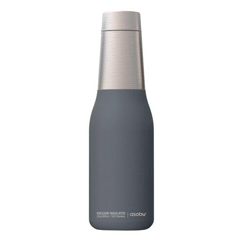 Фото - Термобутылка asobu Oasis (0,59 л) серый термобутылка asobu central park travel bottle 0 51 л медный серебристый
