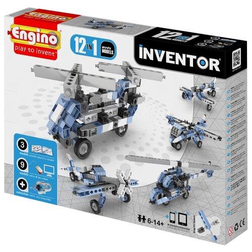 Купить Конструктор ENGINO Inventor (Pico Builds) 1233 Авиация, Конструкторы