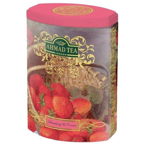 Чай черный Ahmad tea Fine tea collection Strawberry cream , 100 г