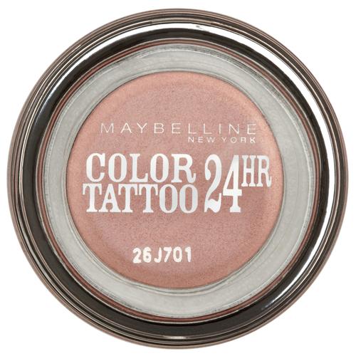 Maybelline New York Тени для век Color Tattoo 24 часа 65, Розовое золото maybelline color tattoo тени для глаз тон 102 мерцающая фантазия