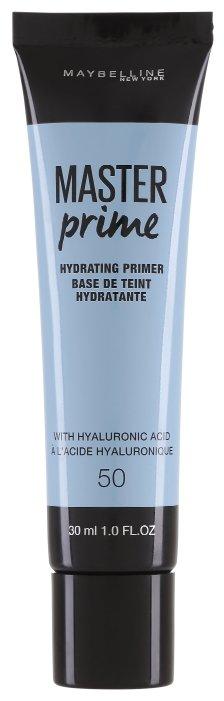Maybelline Основа под макияж Master Prime увлажняющая 30 мл