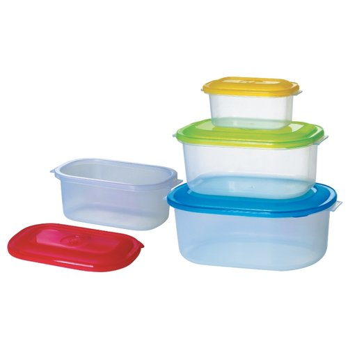 Bohmann Набор контейнеров для продуктов 055BH прозрачный набор контейнеров для продуктов patricia im99 5290