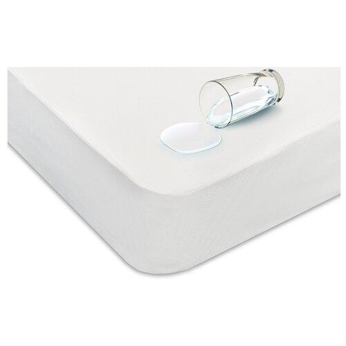 Наматрасник Аскона водонепроницаемый, 140х200х30 см белый
