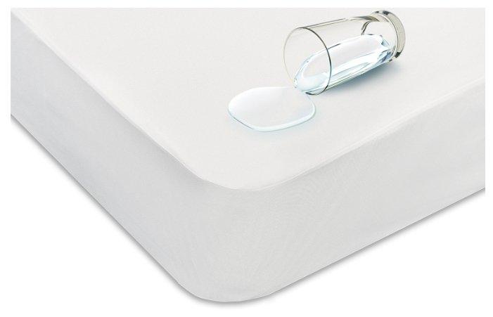Наматрасник Аскона водонепроницаемый (160х200 см) белый