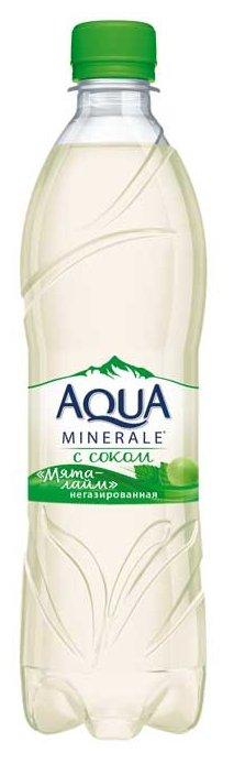 Вода питьевая Aqua Minerale негазированная с соком Мята-лайм, ПЭТ