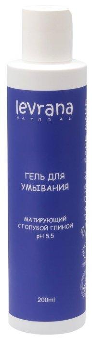 Levrana гель для умывания Матирующий с голубой глиной
