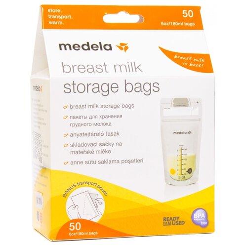 Medela Пакеты для хранения грудного молока 180 мл 50 шт.