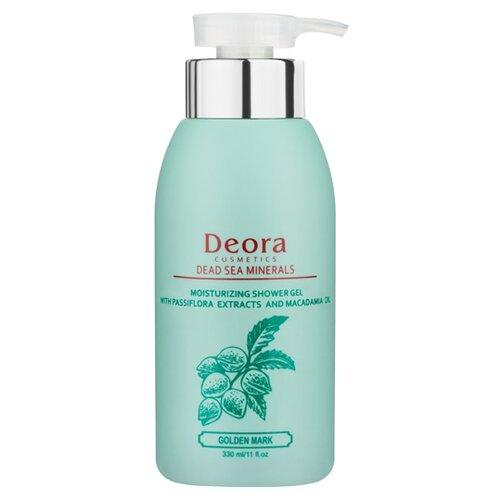 Гель для душа Deora Cosmetics с экстрактом пассифлоры и маслом макадамии 330 млДля душа<br>
