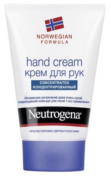Крем для рук Neutrogena Norwegian formula с запахом 50 мл