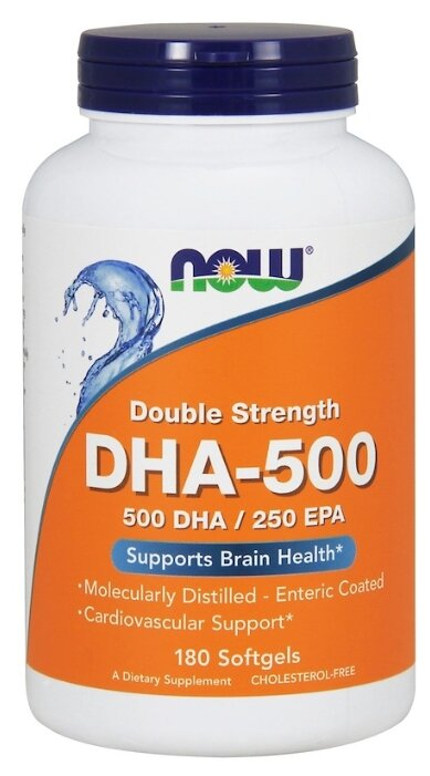 DHA-500/EPA-250 supports brain health капсулы 180 шт.