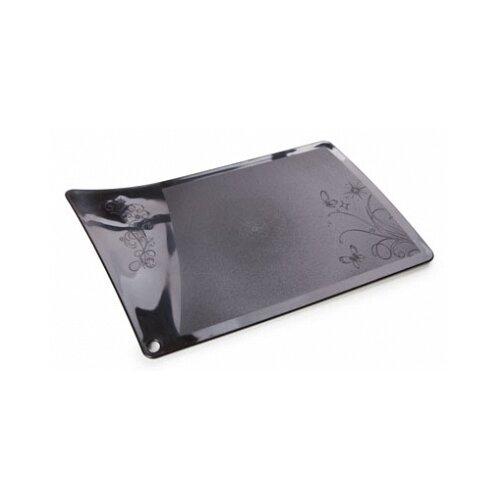 Разделочная доска BEROSSI Rondo, 31.7х19 см, черный
