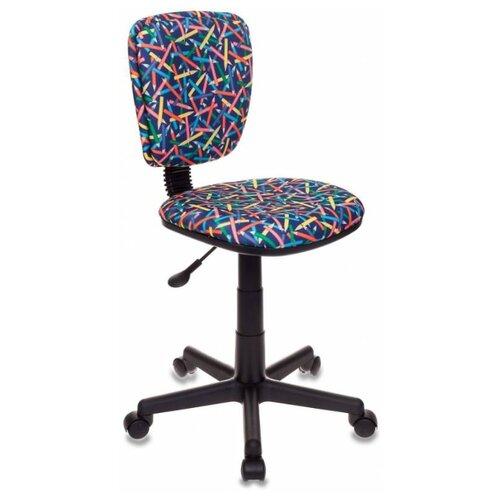 Компьютерное кресло Бюрократ CH-204NX детское детское, обивка: текстиль, цвет: синий карандаши детское компьютерное кресло бюрократ кресло детское ch 204 f