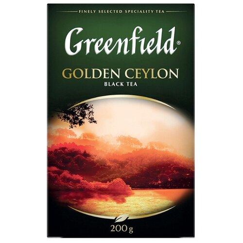 Чай черный Greenfield Golden Ceylon, 200 г