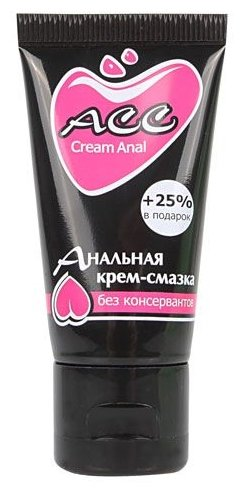 Крем-смазка Биоритм CreamAnal ACC