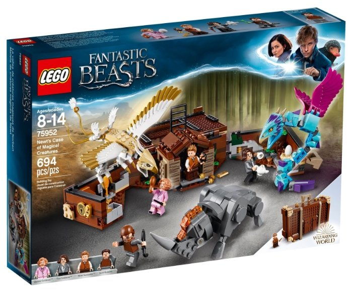 Конструктор LEGO Harry Potter 75952 Чемодан Ньюта Саламандера