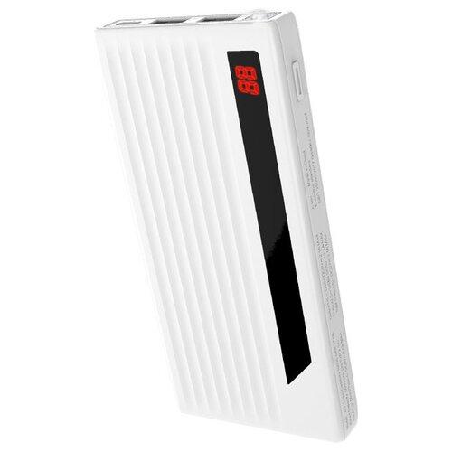Аккумулятор Hoco J27 Power treasure 10000 mAh, белый, коробка недорого
