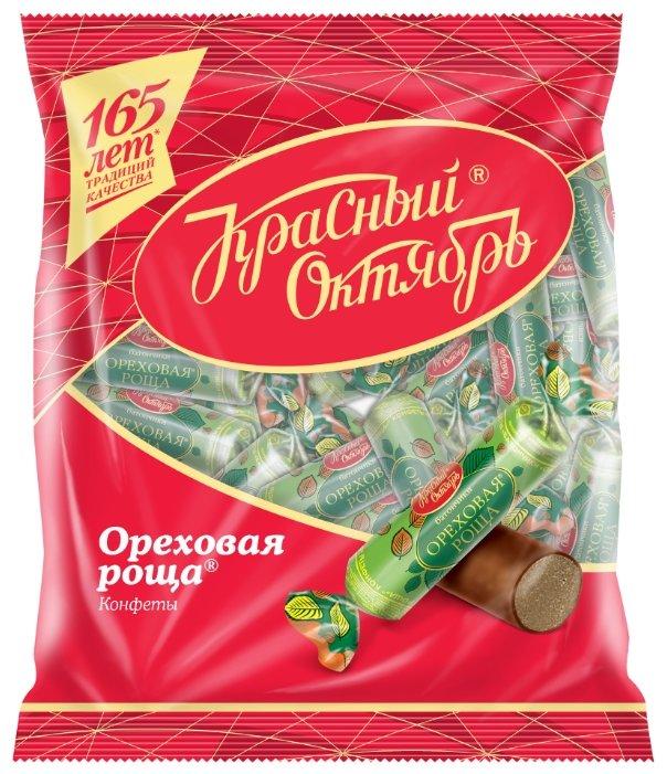 Конфеты Красный Октябрь батончики Ореховая роща, пакет
