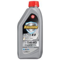 Моторное масло TEXACO Havoline Ultra S 5W-40 1 л