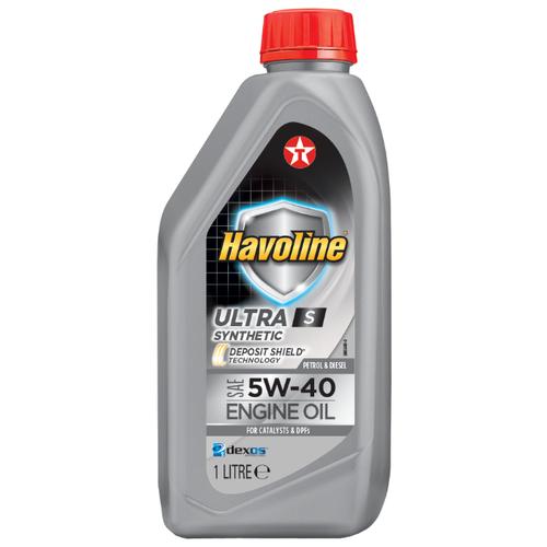 Синтетическое моторное масло TEXACO Havoline Ultra S 5W-40 1 л синтетическое моторное масло starkraft leo 5w 40 s 1 л