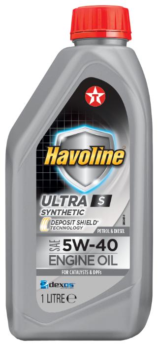 Моторное масло TEXACO Havoline Ultra S 5W-40 1 л