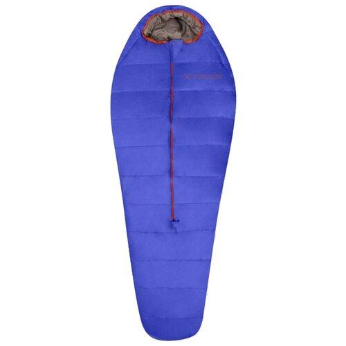 Спальный мешок TRIMM Battle 195 royal blue/brick