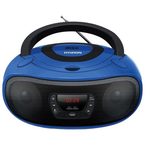 Магнитола Hyundai H-PCD240/H-PCD260/H-PCD280/H-PCD300 синий/черный
