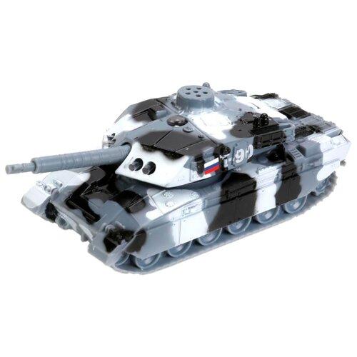 Купить Танк ТЕХНОПАРК Т-90 (CT10-029-1) 13 см серый камуфляж, Машинки и техника