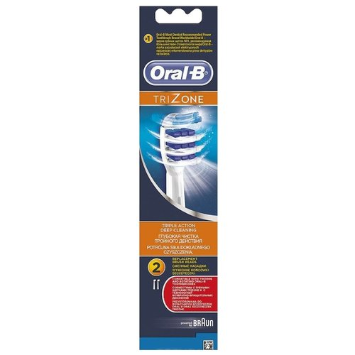Набор насадок Oral-B Trizone, белый, 2 шт